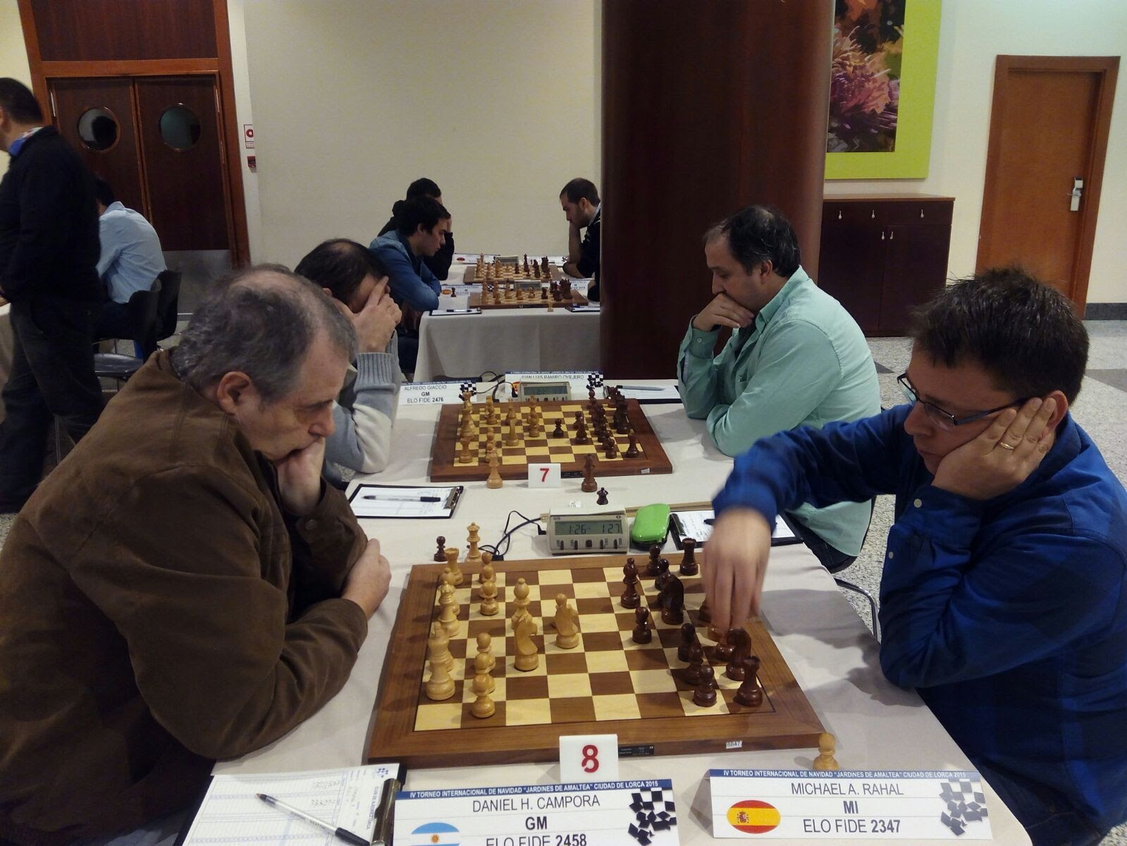 GM Daniel Campora vs MI Michael Rahal