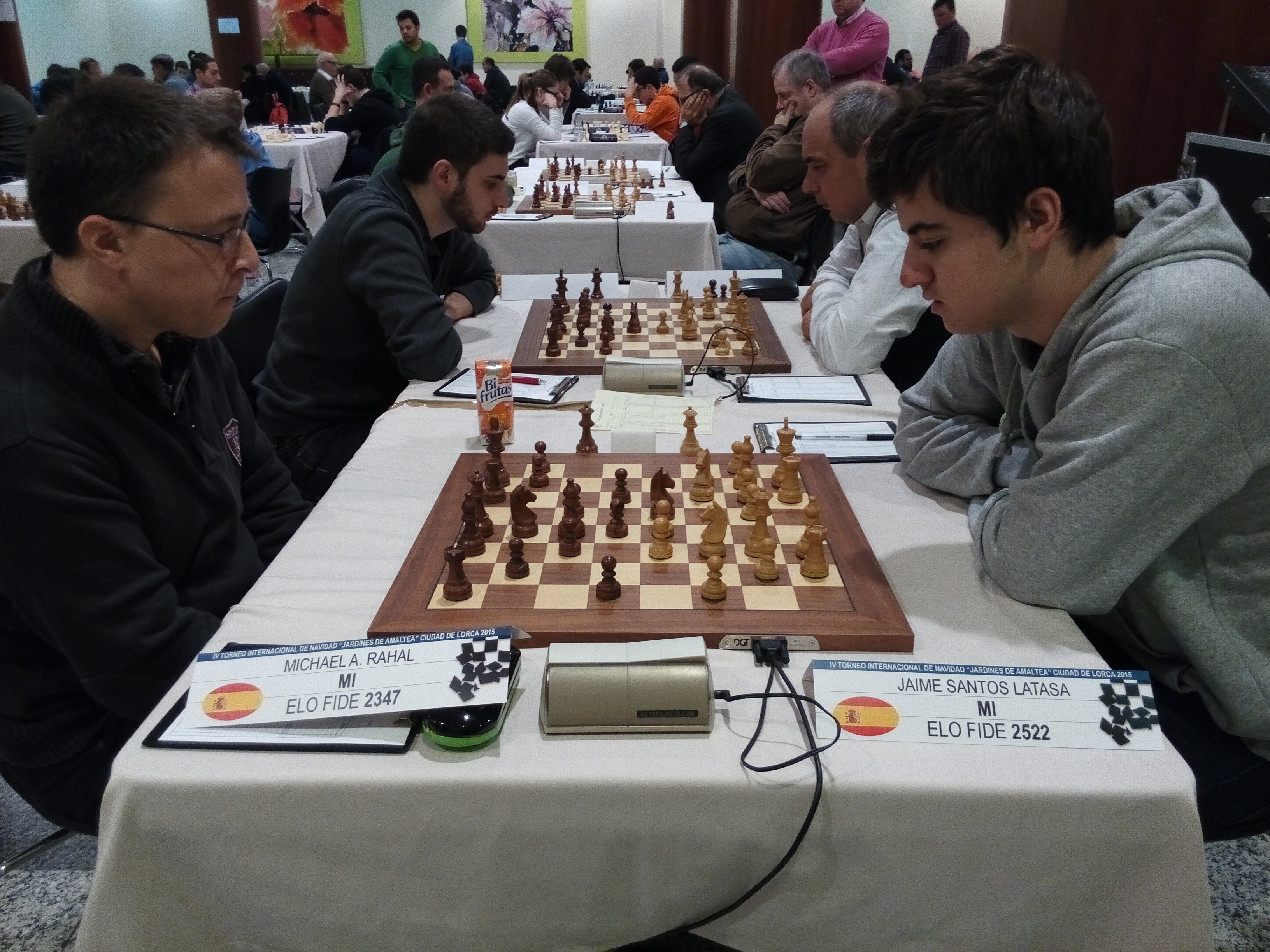 MI Jaime Santos Latasa vs MI Michael Rahal