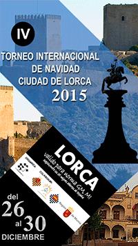 Cartel del torneo de Lorca 2015
